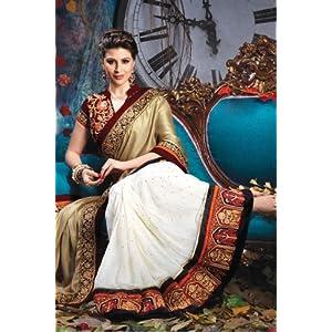 Designer Wedding Bridal Embroidered Saree