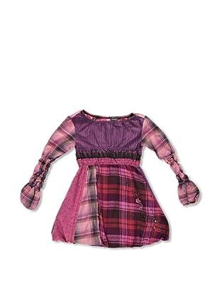 Desigual Vestido Digamma (Granate)