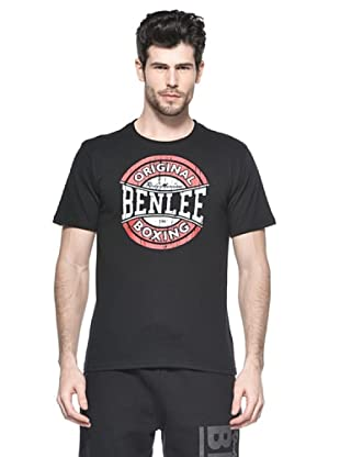 Benlee Camiseta Regular Fit Boxing Logo (Negro)