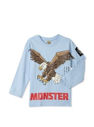 Monster Republic Boy's Eagle Wilderness Tee (Blue)