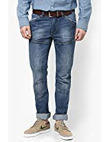 Blue Slim Fit Jeans Ed Hardy