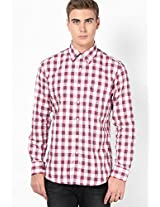 White Sport Fit Casual Shirt