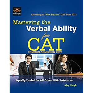 Mastering the Verbal Ability for CAT: Common Admission Test (Old Edition)