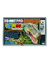4M 3D Art Pad  Dinosaur Kit