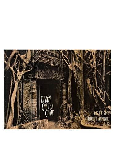 La La Land Posters Deathcab For Cutie at Koko Booth Amphitheatre