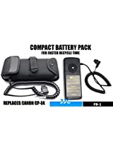 JJC FB-1 External Flash Battery Pack for Canon 600EX-RT 580EX 580EX II 550EX 540EZ MR-14EX MT-24EX YONGNUO YN-560IIISpeedlite Flash Units