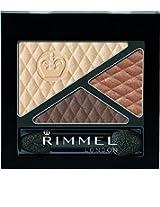 Rimmel Glam 'Eyes Trio Eye Shadow, Summer Chic, 0.15 Fluid Ounce