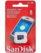 Sandisk 8GB MicroSDHC Class 4 Memory Card
