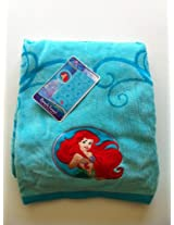Disney Princess Beach Towel with Embroidered Applique, Cotton, (34in x 63in), Mermaid