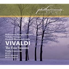 Four Seasons Op.8/Violin Concertos Rv271 277 & 375