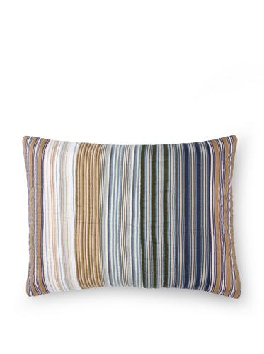 Amity Home Wren Stripe Pillow Sham, Multi, Standard