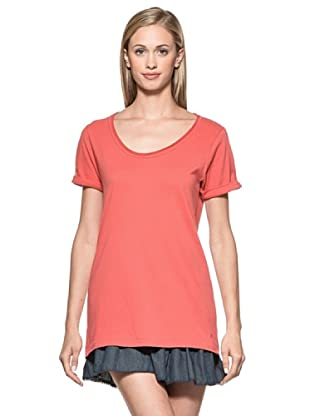 Time Out Camiseta (Coral)
