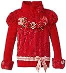 Cutecumber Girls' T-Shirt (1044A-Red-30_7-8 years)