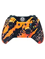 Modded Controller Mod Rapid Fire Controller For Xbox One And Tons More Features With Orange Flurry Shell And Compatible With All Games 1 Advanced Warfare