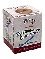 Andrea Eye Qs Eye Make Up Correctors Swabs 50 S (2 Pack)