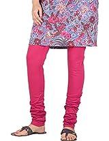 Stop Women's Knit Churidar (4595675-Pink-Small)