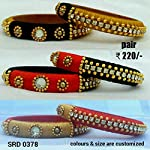 Silk thread bangles available in all