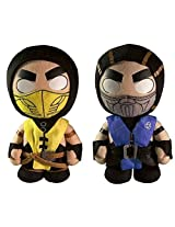 "Mortal Kombat X Sub Zero & Scorpion 8"" Plush (Set Of 2)"