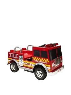Dexton 12V Fire Truck Ride On