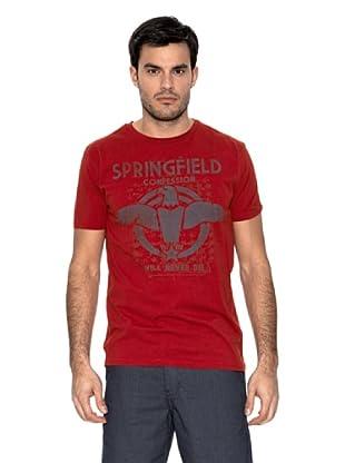 Springfield Camiseta Águila (Rojo)