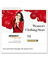 Women's Clothing Store - E-mail Amazon.in Gift Card