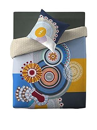 V&L Sueños Juego De Funda Nórdica Crochet Chantilly