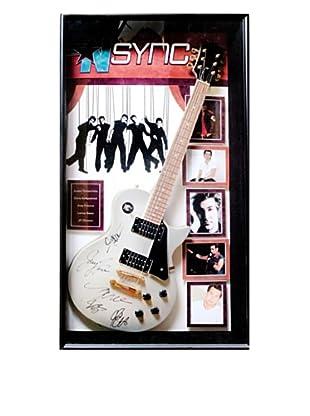 Signed NSYNC Guitar