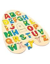 """Skillofun """"A"""" Shape Alphabet Tray"""