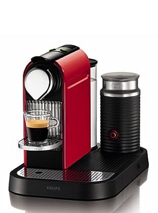 Krups Máquina de Café Nespresso Citiz Milk Roja