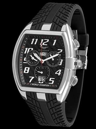 Sandoz 81261-05 - Reloj de Caballero con correa de caucho
