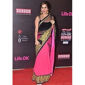 Riwaz Collection Sophie Chaudhary Sari, Pink