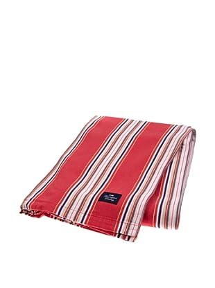 Lexington Company Mantel Rayas (Rojo)