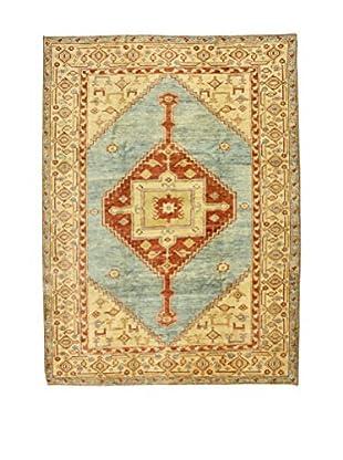 Eden Teppich Agra denim/braun 257 x 349 cm