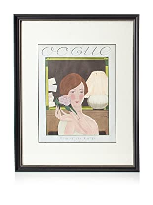 Original Vogue Cover from 1924 by Georges Lepape
