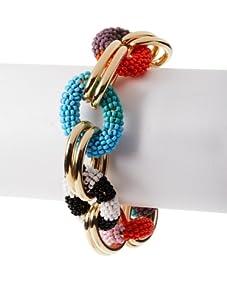 nOir Multicolor Chain Bracelet