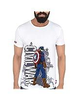 Marvel Civil War Men's Polycotton T-Shirt