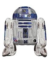 Anagram International Star Wars R2D2 Air Walker, Multi-Color