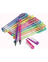 Set of 12 Multi-color Gel Pen - Neon Colors