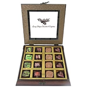 Belgium Chocolates - 16Pc Belgian Dark Chocolate - Chocholik