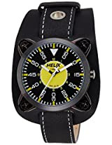 Helix Analog Black Dial Men's Watch - TI04HG02H00