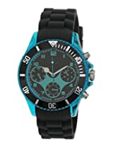 Maxima Hybrid Collection Analog Black Dial Men's Watch - 31330PPGN