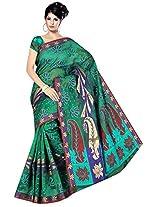 Saree Sansarr Saree (7114_Green)