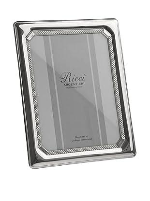 Ricci Tri-Bead Sterling Silver Photo Frame, 4