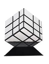 Shengshou Mirror Blocks Spring Speed Magic Cube Silvery