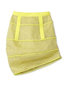 kicokids Girl's Sculpted Cocoon Structure Skirt (Citrus)