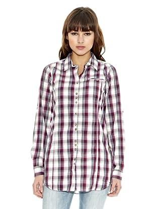 Z-BRAND Camisa Cuadros Choctaw (Morado)