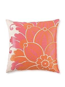 "D.L. Rhein Waikiki Linen Pillow, Orange, 20"" x 20"""