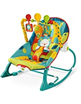 Fisher-Price Infant To Toddler Rocker, Dark Safari
