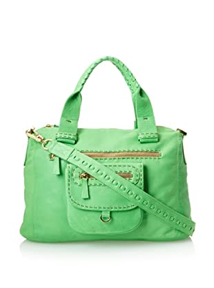 Carla Mancini Women's Billie Satchel (Kelly Green)