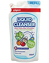 pigeon liquid cleanser combo(700ml refill pack of 2)